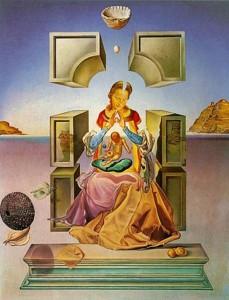 """""""A Port Lligat-i madonna"""" - Salvador Dalí festménye, 1949"""