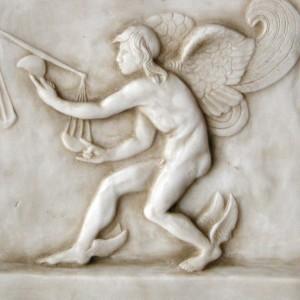 Kairos, a szárnyas isten - Lysippos domborműve